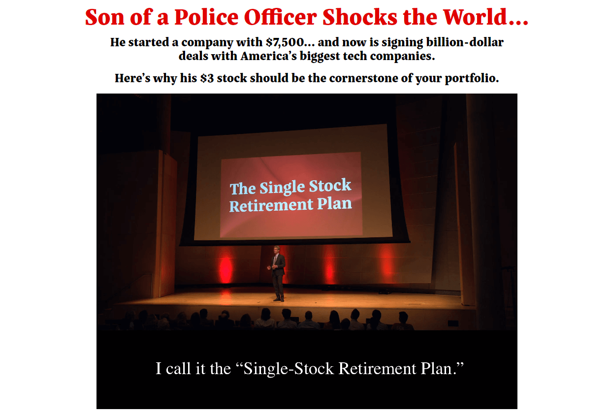 one stock retirement